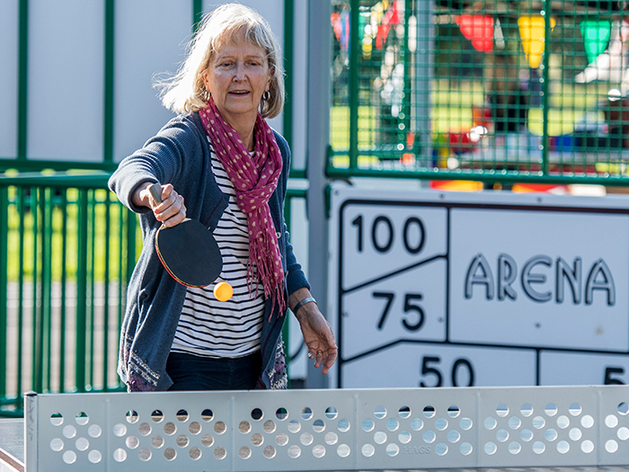 Swaffham Outdoor Table Tennis